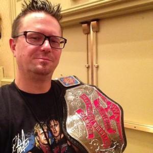 Interview with wrestling belt maker dave millican the for Michael hofer