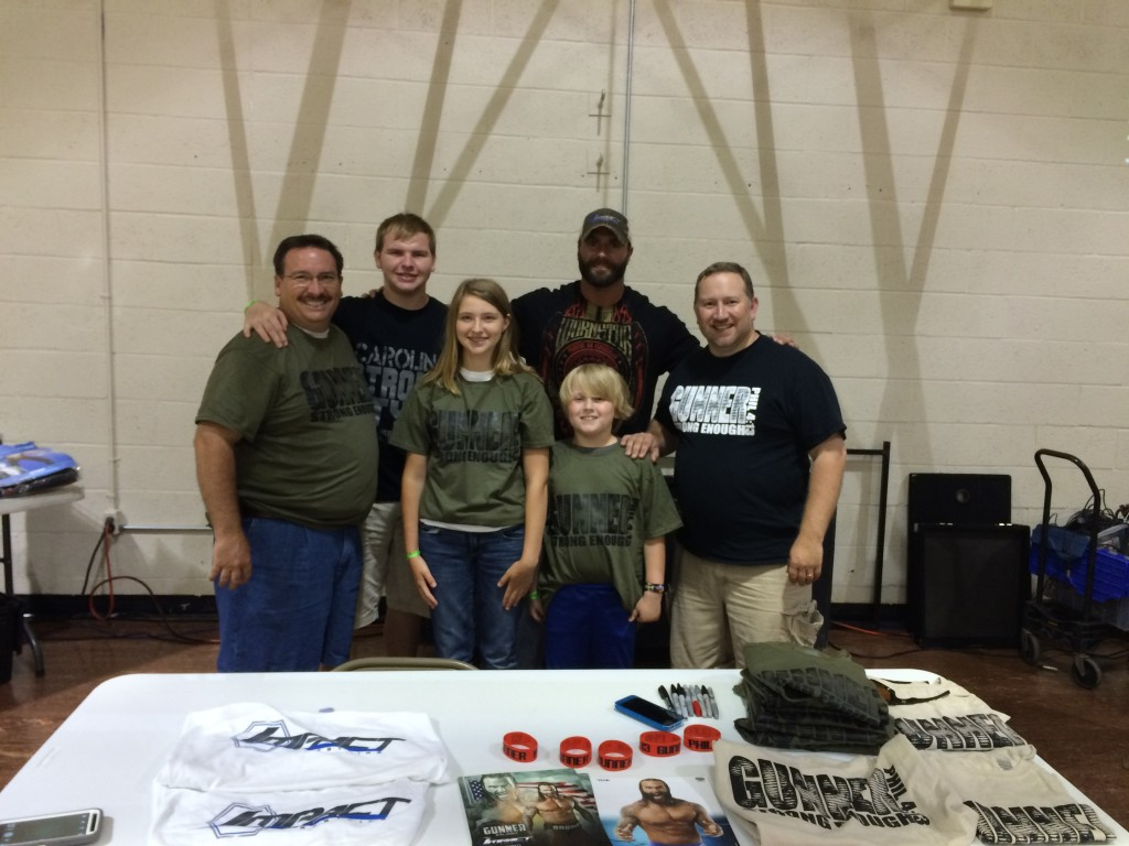 TNA's Gunner with our crew